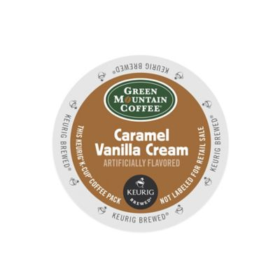 K-Cup® 18-Count Green Mountain Coffee® Caramel Vanilla Cream Coffee for Keurig® Brewers