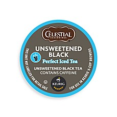 K-Cup® 16-Count Celestial Seasonings Unsweetened Black Perfect Iced Tea for Keurig® Brewers