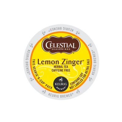 K-Cup® 18-Count  Celestial Seasonings® Lemon Zinger® Tea for Keurig® Brewers