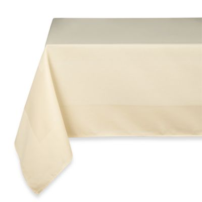 Riegel® Satin Band Beauti-Damask 90-Inch x 90-Inch Tablecloth in Sand (3-Pack)