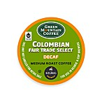 K-Cup® 18-Count Green Mountain Coffee® Colombian Fair Trade Decaf for Keurig® Brewers