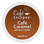K-Cup® 16-Count Cafe Escapes® Cafe Caramel for Keurig® Brewers