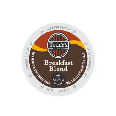 K-Cup® 18-Count Tully's® Breakfast Blend for Keurig® Brewers