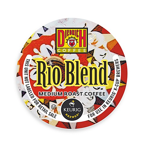 K-Cup® 18-Count Diedrich Coffee® Rio Blend Medium Roast Coffee for Keurig® Brewers