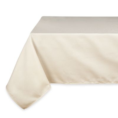 Riegel® DiRona 3-Pack All-Over Pique 63-Inch x 63-Inch Tablecloth in White/Ivory