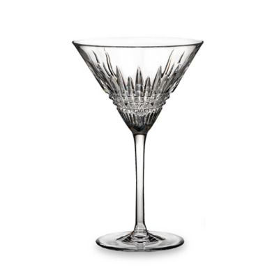 Waterford® Lismore Diamond Crystal 9-Ounce Martini Glass (Set of 2)