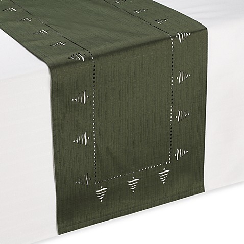Bountiful tree table runner bed bath beyond for Bountiful storage