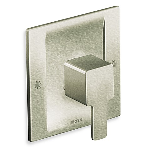 Moen 90 Degree Posi-Temp® Shower Trim Valve Only in Brushed Nickel
