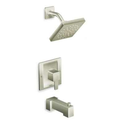 Moen 90 Degree Moentrol® Tub/Shower Trim in Brushed Nickel