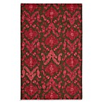Nourison Siam Rug in Brown/Red