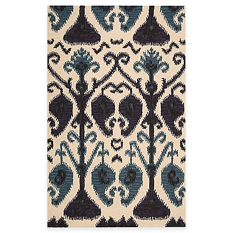 Nourison Siam 3-Foot 6-Inch x 5-Foot 6-Inch Area Rug in Beige