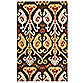 Nourison Siam 3-Foot 6-Inch x 5-Foot 6-Inch Area Rug in Chocolate