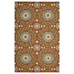 Nourison Siam Rug 8-Foot x 10-Foot 6-Inch Area Rug in Rust