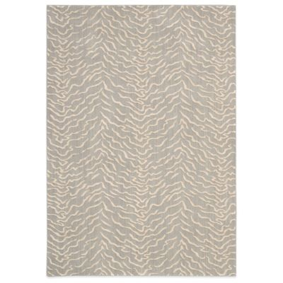 Nourison Nepal Bengal 5-Foot 3-Inch x 7-Foot 5-Inch Area Rug in Quartz