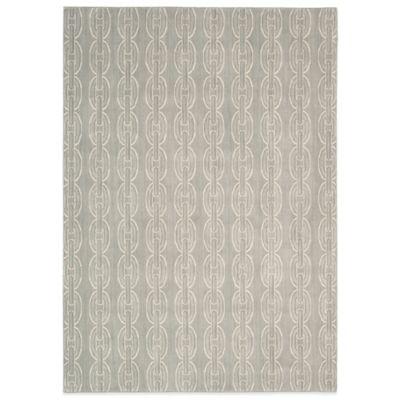 Nourison Nepal Butwal 3-Foot 6-Inch x 5-Foot 6-Inch Area Rug in Quartz