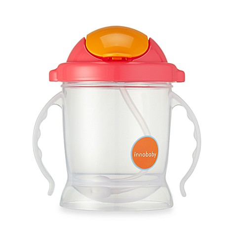 Innobaby Sippin' Smart™ EZ Flow Straw Sippy 10-Ounce in Pink