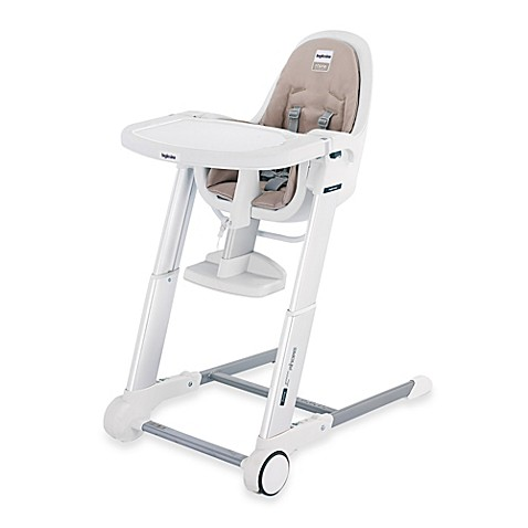 inglesina zuma white high chair in cream buybuy baby. Black Bedroom Furniture Sets. Home Design Ideas