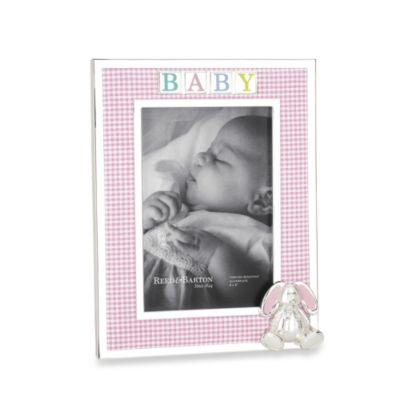 Reed & Barton® Gingham Bunny 4-Inch x 6-Inch Picture Frame