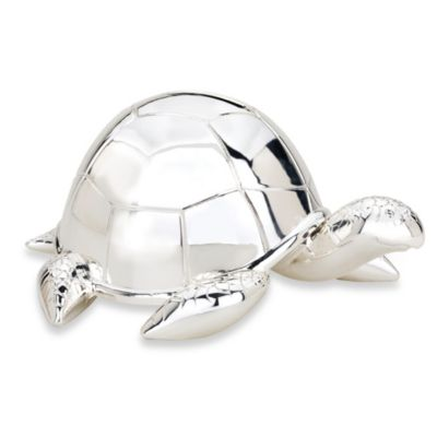 Reed & Barton Turtle Bank in Silver