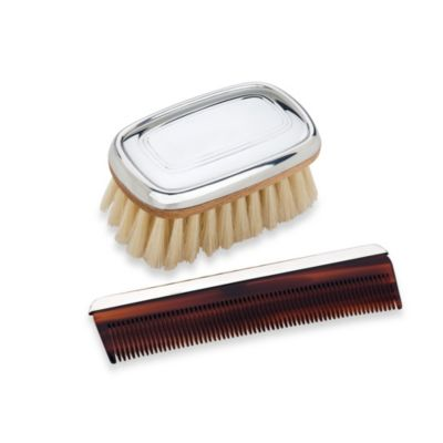 Reed & Barton® Kent Boy's Brush and Comb Set