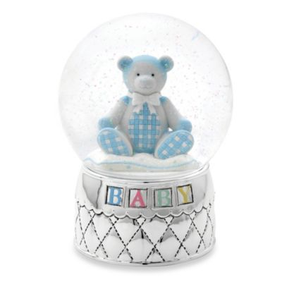 Reed & Barton® Gingham Bear Water Globe