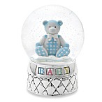 Reed & Barton® Gingham Bear Waterglobe