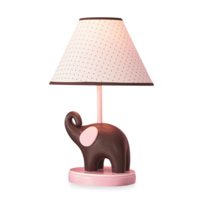 Carter's® Pink Elephant Lamp