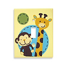NoJo® Jungle Tales Switch Plate