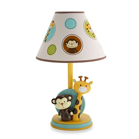 NoJo® Jungle Tales Lamp Base and Shade