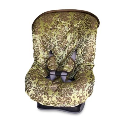 Baby Bella Maya™ Toddler Car Seat Cover in Caramel Apple Swirl