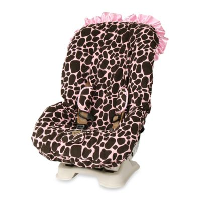 Baby Bella Maya™ Toddler Car Seat Cover in Ginny Giraffe