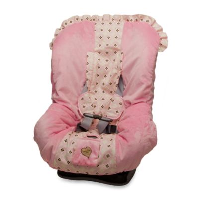 Baby Bella Maya™ Toddler Car Seat Cover in Sugar & Spice