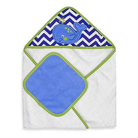 Neat Solutions 174 Whale Hooded Towel Amp Washcloth Set Www