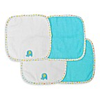 Neat Solutions® Elephant 4-Pack Washcloth Set