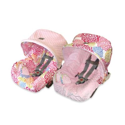 Itzy Ritzy® Baby Ritzy™ Rider Infant Car Seat Cover in Fresh Bloom