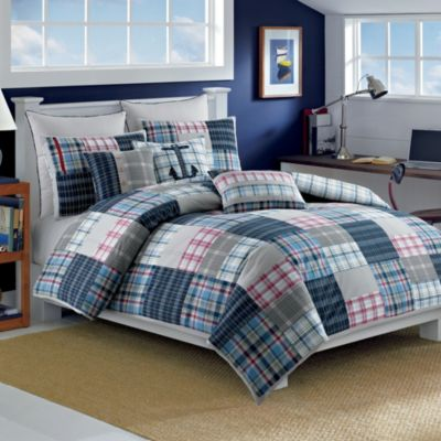 Nautica® Chatham King Pillow Sham in Navy/Multi