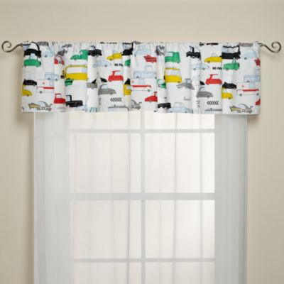 KAS® Kids Road Train Window Valance