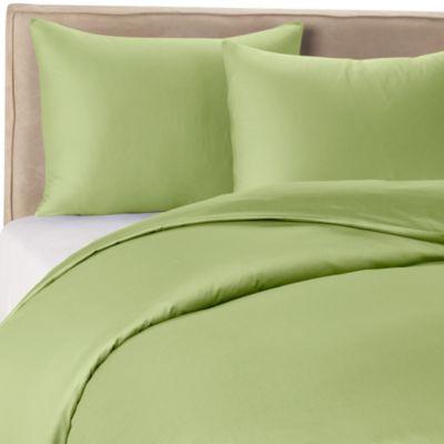 Wamsutta® 400 Twin Duvet Cover Set in Celery