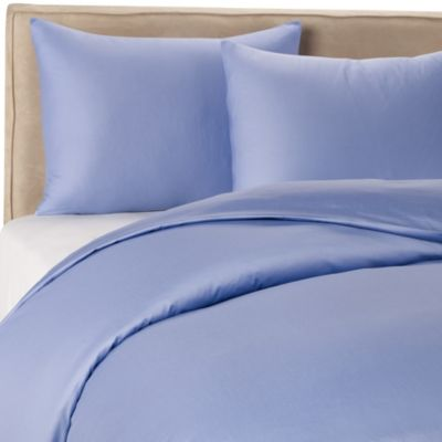Wamsutta® 400 Twin Duvet Cover Set in Periwinkle