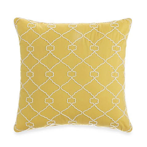 Dena™ Home Pavilion Yellow Square Toss Pillow