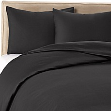 Wamsutta® 400 Duvet Cover Set in Black
