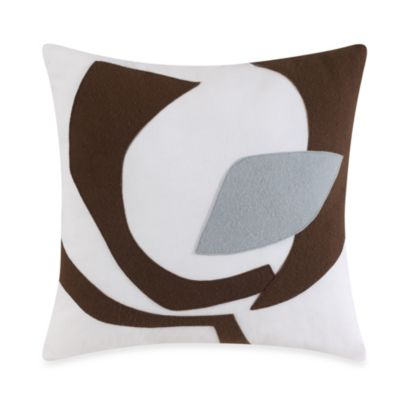 DVF Studio™ Graphic Poppy Square Toss Pillow
