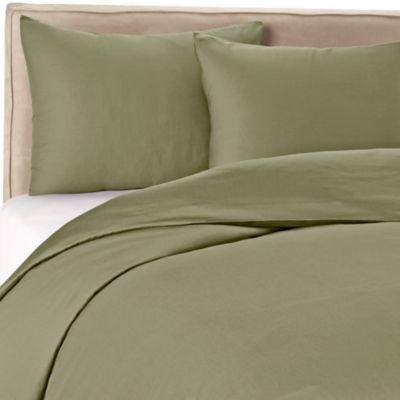 Wamsutta® 400 Thread Count King Duvet Cover Set in Sage