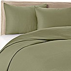 Wamsutta® 400 100% Cotton Sateen Duvet Cover Set in Sage