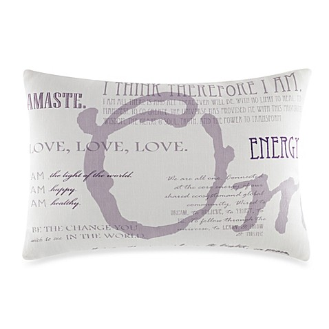 Under The Canopy® Mystic Serenity Oblong Toss Pillow