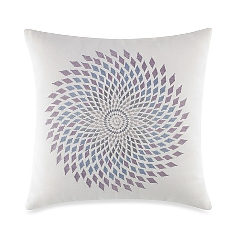 Under The Canopy® Mystic Flower Square Toss Pillow