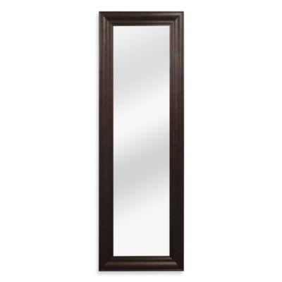 Bronze Over The Door Mirror
