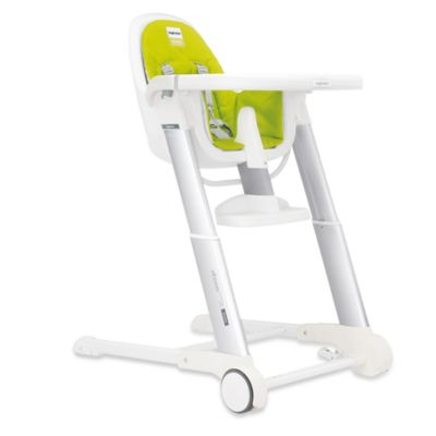 Inglesina® Zuma White High Chair in Lime