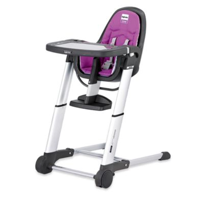 Inglesina® Zuma Gray High Chair in Fuschia