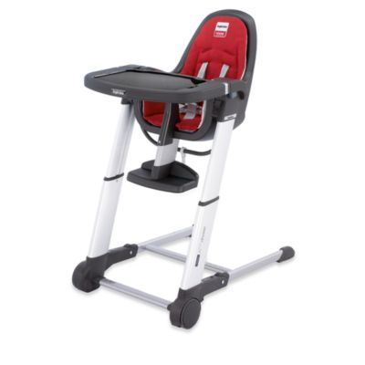 Inglesina® Zuma Gray High Chair in Red